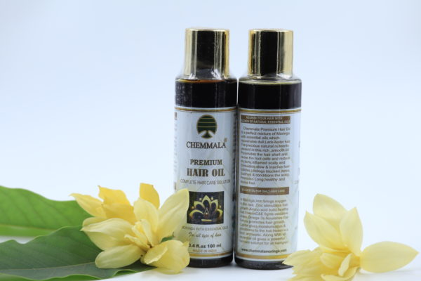 Chemmala Organic Moringa based Herbal Hair Oil